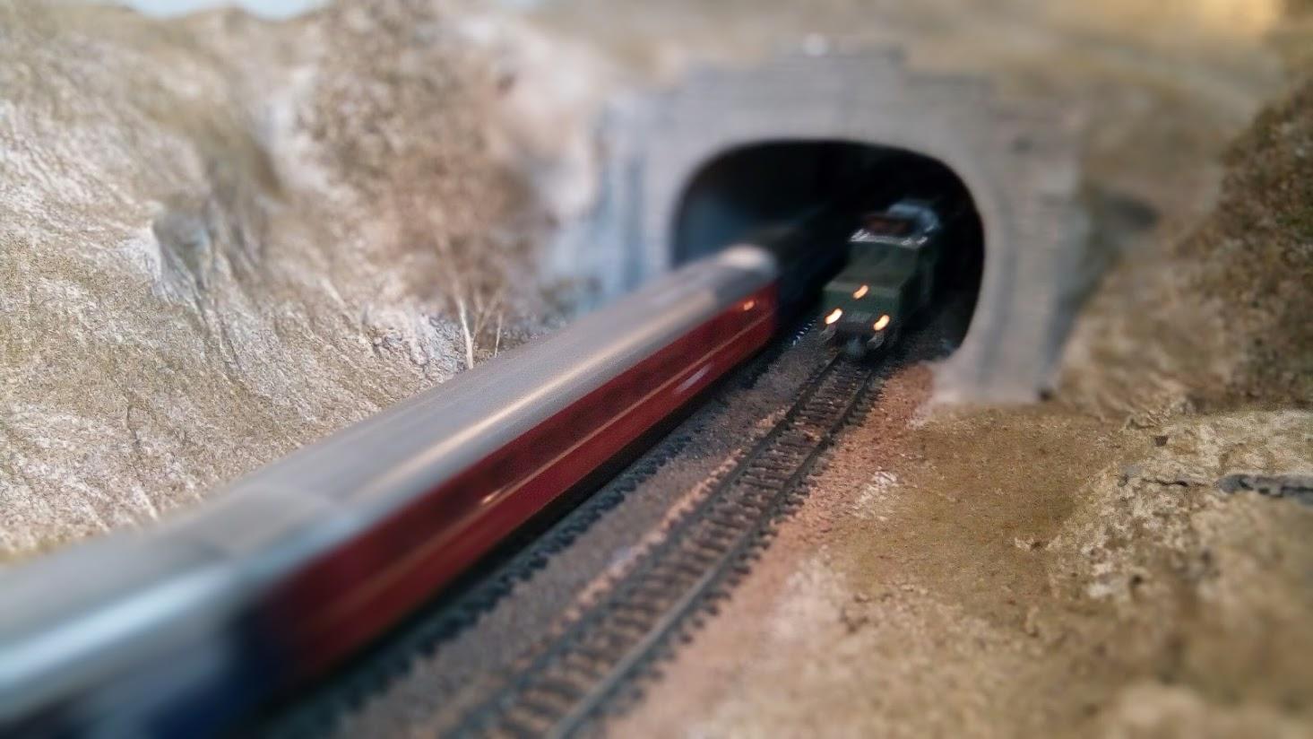 Barcelona en miniatura - Tunel