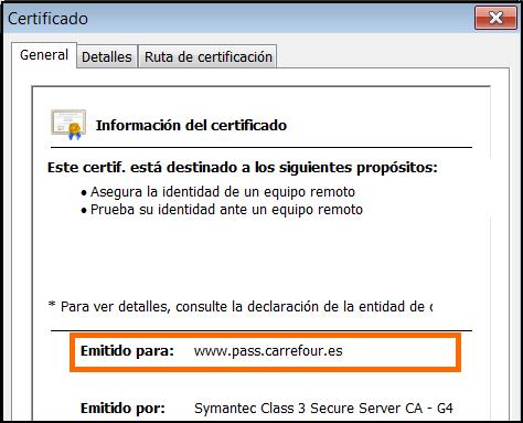Chrome Ver Certificado
