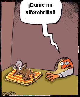Raton Alfombrilla