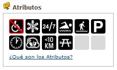 Geocaching Atributos